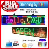 P10 RGB LED Scrolling display Forum / Outdoor Full Color LED Programmablefor Segni Display a LED / Computer Support USB