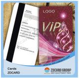 플라스틱 자석 줄무늬 PVC 카드