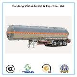 De 3 eixos de Fuwa da liga de alumínio do combustível de petroleiro do caminhão reboque Semi