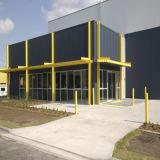 Construction industrielle légère d'entrepôt de structure métallique