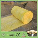 Isolation de laines de verre de fibre avec le papier d'aluminium par l'intermédiaire du ce