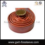Qualitäts-Stahldraht-umsponnener hydraulischer Gummischlauch der Feuer-Hülsen-Tuch-Oberflächen-SAE 100 R1at