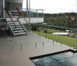 Clip en verre de balustrade de piscine/ajustage de précision bride en verre/acier inoxydable