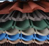 多彩な砂上塗を施してある鋼鉄屋根を付けるTiels