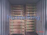Jaula plegable del acoplamiento del metal del almacenaje