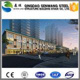 Edifício pré-fabricado da construção de aço para o escritório super do mercado do hotel