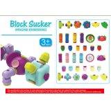 Cupulaのプラスチック吸盤の教育おもちゃのブロック