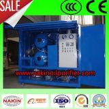 Doppio purificatore di olio impermeabile del trasformatore di vuoto delle fasi, macchina di depurazione di olio