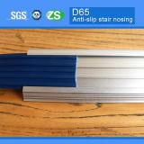 65мм Ширина Безопасность Алюминий Металл лестничные Nosing