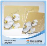 Карточка PVC членства офсетной печати предоплащенная пластичная с Barcode