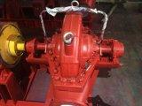 Bomba industrial de la cubierta partida horizontal de la sola etapa