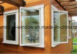 Modernes Aluminiumchampagne-Flügelfenster-Fenster für afrikanischen Markt