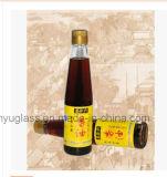 Bottiglie di vetro vuote libere dell'olio di sesamo per il condimento con i coperchi