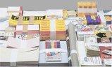 Geld-verbindlicher Zoll gedrucktes Lochstreifen