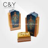 Cadre de papier arabe de bouteille de parfum d'impression de beauté de modèle neuf polychrome du monde