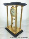 Horloge de luxe de sable d'horloge de bureau