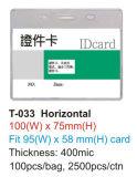 Poseedor de una tarjeta de identificación del PVC Namde T-033h/T-033V/T-037h/T-037V/T-038h/T-038V