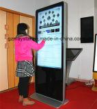 42 '' ultra dünne 4k Baugruppe WiFi, das stehenden Digital-Kiosk bekanntmacht