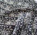 La mode chimique estampée du tissu 100viscose rectifie le vêtement