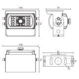 700TV выравнивает резервную камеру для шины, тележек
