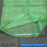 Grüner PET Raschel Sack für verpackenpfeffer