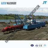 12 Zoll-Scherblock-Absaugung-Bagger mit 15m ausbaggerndem Tiefen-Sand-Bagger
