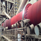 Oven van het Cement van de hoge Efficiency de Roterende voor de Installatie van het Cement