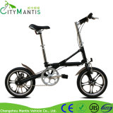 16 인치 단 하나 속도 접히는 도시 자전거 알루미늄 합금 접히는 자전거