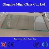 Rectangulaire en verre trempé Table Top (8mm 10mm 12mm 15mm)