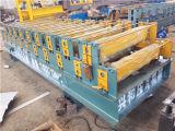 Mattonelle d'acciaio di punto dei materiali da costruzione che formano macchina