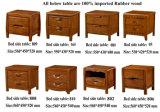 Mobilia di legno della camera da letto, Tabella laterale della base, apprettatrice, base (6013)