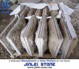 Chinesischer preiswerter gelber Pilz des Granit-G682 für Wand-Umhüllung-Fliesen
