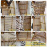 ステンレス鋼の装飾的な金属線の網