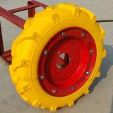 3.50-6 4.00-8 5.00-8 rotelle libere piane della gomma piuma del trattore agricolo R1