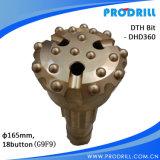 Bit de Ql50-140mm DTH sem válvula de aspiração