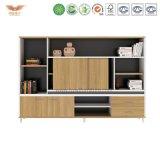 Самомоднейший шкаф хранения опиловки офисной мебели деревянный (H90-0602)