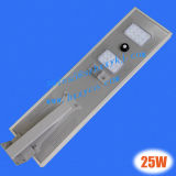 25W All in Un Solar Street Light con 18V 50W Solar Panel