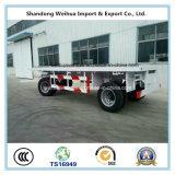 Трейлер контейнера Axles 20FT изготовления 3 с высоким качеством