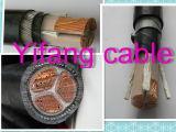 0.6/1kv, 4 quitan el corazón, Cu/XLPE/SWA/cable de transmisión del PVC/del PE