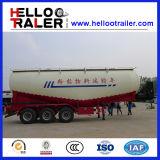 Selbst Loading Type 3 Axle 45cbm Bulk Concrete Transport Tank Semi Trailer
