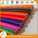 UL1276 alambre flexible aislado EPDM 1/0 2/0 3/0 cable de la soldadura 4/0AWG