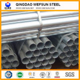 Большое качество и сваренная обслуживанием гальванизированная углеродом стальная труба для структуры и перевозки