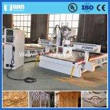 Máquina combinada do router do CNC do Woodworking da mobília maquinaria Multi-Function eficiente elevada