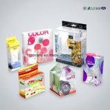 Пластичные подарки рождества упаковывая коробки с печатание
