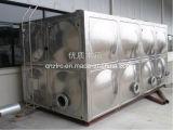 Réservoir d'eau modulaire durable d'acier inoxydable 10000 litres