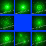 L6408rrgg MiniLaser Lichte 300MW Rgrg 8gobos en 3W Blauwe LEIDEN Licht met Afstandsbediening