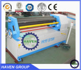 Máquina de rolamento assimétrica da placa, máquina de dobra da folha de metal de três rolos