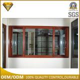 Fabbricazione di vetro di alluminio della finestra di scivolamento di Foshan con l'otturatore (JBD-S3)