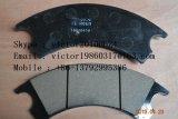 바퀴 로더 마찰 패드 75700463 XCMG 브레이크 디스크 Sdlg