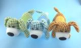 Het Stuk speelgoed van huisdieren met Twee Vormen, Egel en Van een hond